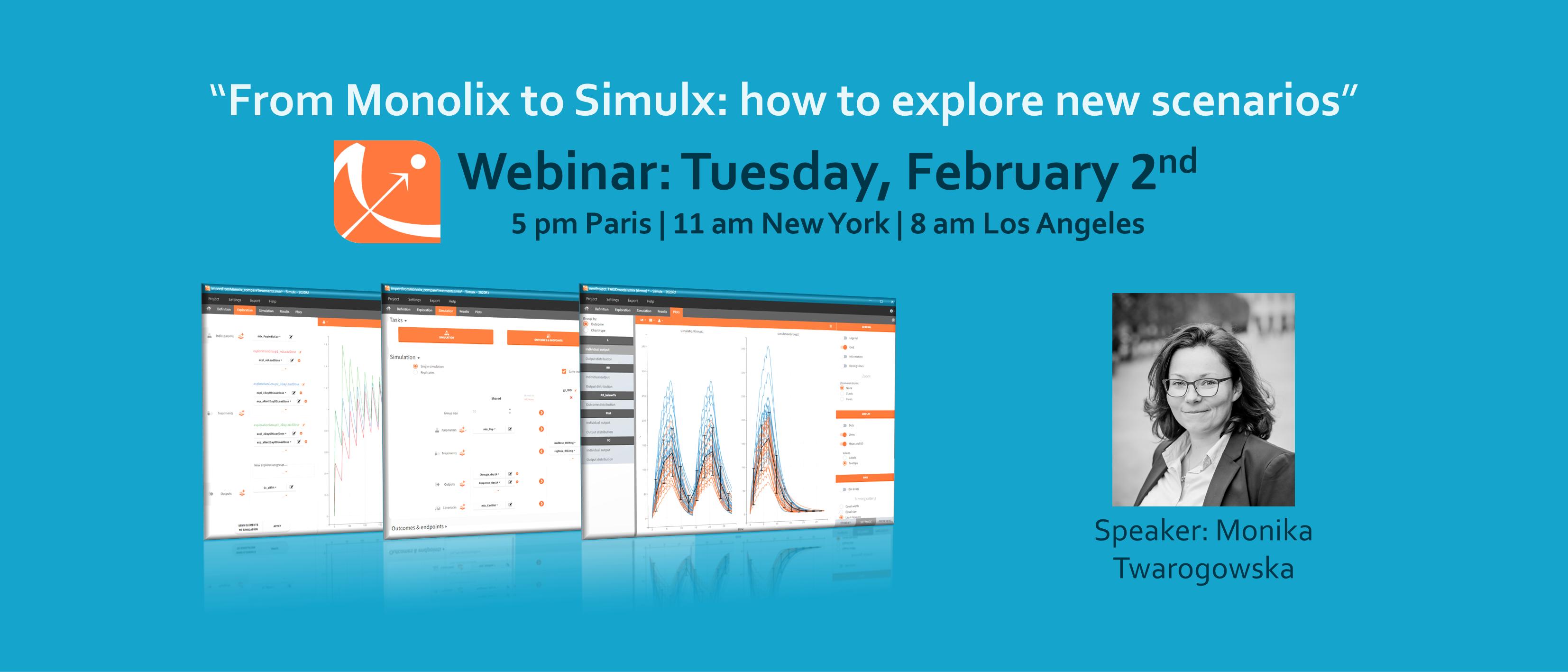 From Monolix to Simulx: how to explore new scenarios